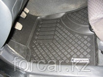 Коврики в салон Tоyota Avensis (02-08) (полимерные) L.Locker, фото 2
