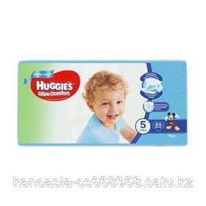 Huggies Подгузники Huggies, Ultra Comfort Giga 5, для мальчиков, XL, 64 шт/упак.