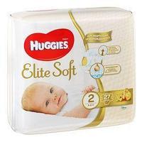 Huggies Подгузники Huggies,  Elite Soft 2, S, 27 шт/упак.