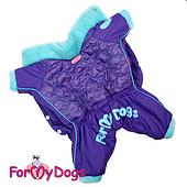 Комбинезон ForMyDogs для мальчиков (Синий) - 21-27 см