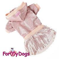 Платье ForMyDogs для собак (Розовый) - 27-36 см