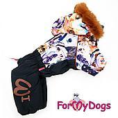 """Комбинезон ForMyDogs """"Dogs"""" для мальчиков (Черный) - 20 р"""