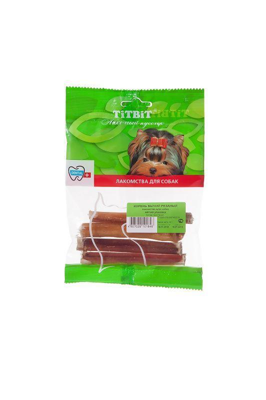 Корень бычий резаный TitBit для собак - 50 г
