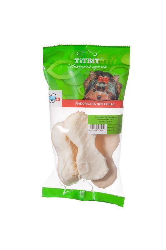 Чипсы говяжьи XL TitBit для собак - 40 г