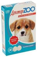 Мультивитаминное лакомство Доктор Zoo Здоровый щенок - 120 табл.