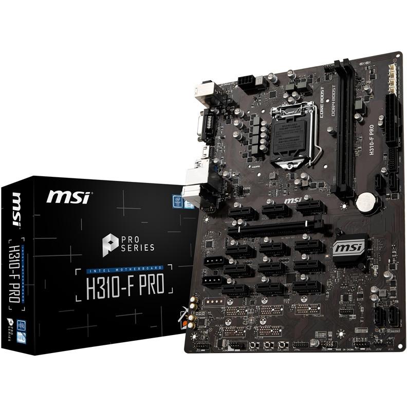 Материнская плата MSI H310-F PRO
