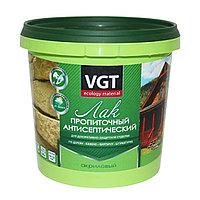 Лак акриловый пропиточный с антисептиком ореховое дерево 0,9кг VGT