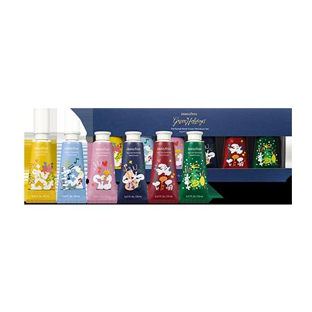 Подарочный набор кремов для рук из лимитированной коллекции Innis Free Perfumed Hand Cream Miniature Set