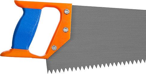 Ножовка ИЖ по дереву с двухкомпонентной пластиковой рукояткой, шаг 8мм, 500мм, фото 2