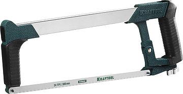 Ножовка по металлу, 185 кгс, KRAFTOOL Super-Kraft, 24 TPI, фото 2