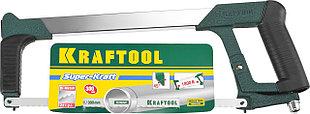 Ножовка по металлу, 185 кгс, KRAFTOOL Super-Kraft, 24 TPI