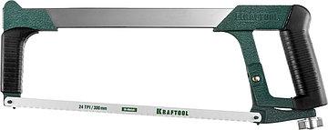 Ножовка по металлу, 185 кгс, KRAFTOOL Super-Kraft, 24 TPI, фото 3