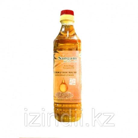 Кунжутное масло первого холодного отжима, 500 мл,Extra Virgin , Sangam Herbals