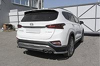 Уголки d57 Hyundai SANTA FE 2018-