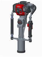 Бензиновый копер TSS-65GPD (80 мм) в кейсе