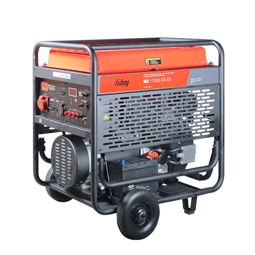 Бензиновая электростанция FUBAG BS 17000 DA ES