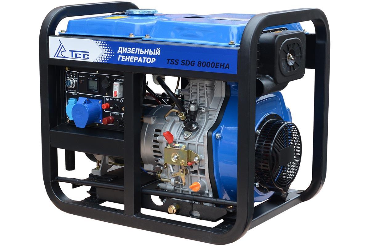 Дизель генератор TSS SDG 8000EHA