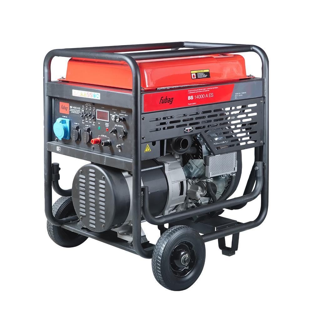 Бензиновый генератор FUBAG BS 14000 A ES