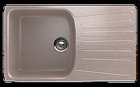 Мойка кухонная односекционная реверсивная ECO Stone 830 x 480