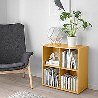 ЭКЕТ Комбинация шкафов с ножками, золотисто-коричневый, 70x35x72 см, фото 1