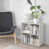ЭКЕТ Комбинация шкафов с ножками, светло-серый, 70x35x72 см, фото 1