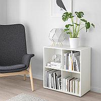 ЭКЕТ Комбинация шкафов с ножками, белый, 70x35x72 см, фото 1