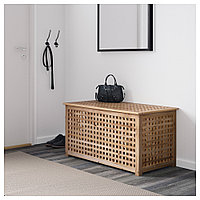 ХОЛ Стол-сундук, акация, 98x50 см, фото 1