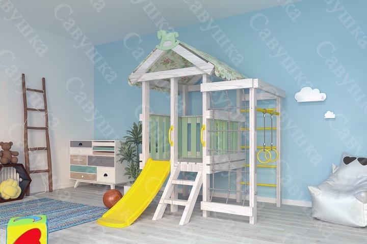 Игровой комплекс-кровать Савушка Baby-12