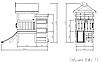 Игровой комплекс-кровать Савушка Baby-13, фото 7