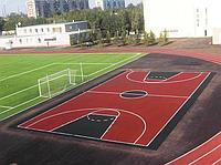 Бесшовное резиновое покрытие Футбольного поля, толщина 12мм