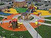 Бесшовное резиновое покрытие Детской площадки, толщина 12мм, фото 6