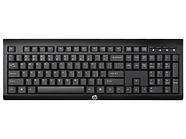 Клавиатура HP Europe K2500 Беспроводной (Черный)