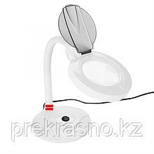 Лампа-лупа LED портативная настольная