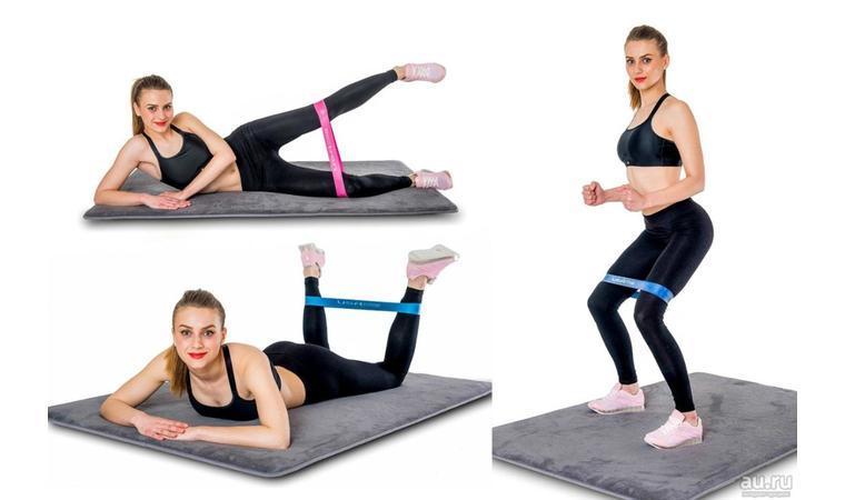 Наборы Ленты-эспандеры,SPORTS Heavy резинки для фитнеса 4 шт - фото 3