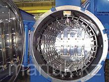 Горизонтальная двухкамерная вакуумная печь для закалки под высоким давлением OVHPD