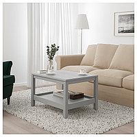 ХАВСТА Журнальный стол, серый, 75x60 см, фото 1