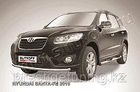 Защита переднего бампера d57 Hyundai Santa Fe 2007-12
