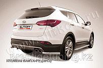 Уголки d57 Hyundai Santa Fe 2013-17