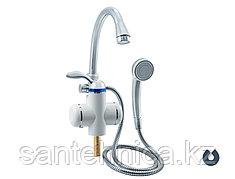 Кран-водонагреватель проточный Unipump BEF-001-03 с лейкой