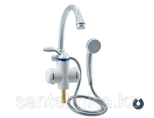 Кран-водонагреватель проточный Unipump BEF-001-03 с лейкой, фото 2