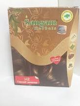 Натуральная краска для волос Горький шоколад H2, Сангам, 60 гр