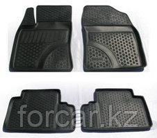 Коврики в салон  Avensis (09-) (полимерные) L.Locker