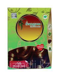 Натуральная краска для волос Лесной орех N 8, Сангам, 100 гр