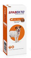 Bravecto, Бравекто жевательная таблетка для собак весом 4,5-10 кг, таб. 250 мг