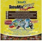 Корм TetraPro Color Crisps для усиления насыщенности окраса рыб, чипсы - 12 г