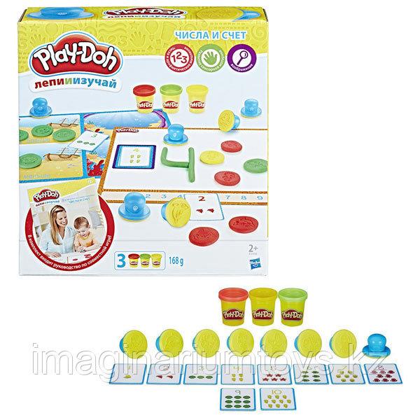 "Play-Doh набор ""Цифры и числа"" пластилин Плейдо"