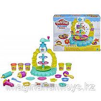 """Пластилин Плей До Play-Doh в игровом наборе """"Карусель сладостей"""""""