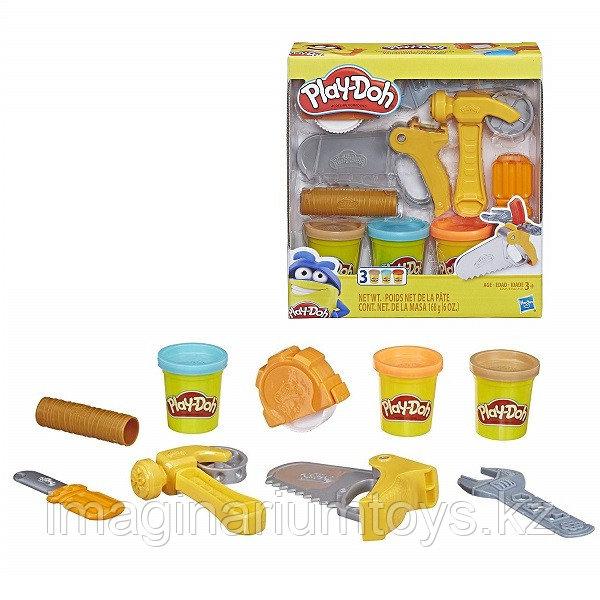 Набор пластилина Плей До Play-Doh для мальчиков «Инструменты»