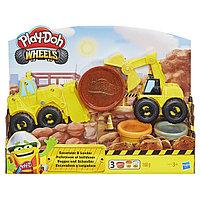 Набор пластилина Плей До Play-Doh «Экскаватор», фото 1