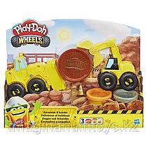 Набор пластилина Плей До Play-Doh «Экскаватор»